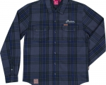 MEN PLAID GRAY SHIRT