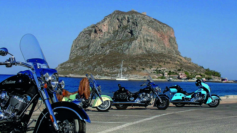 RIDE IN GREECE with Legendary Rides